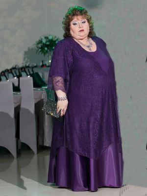 שמלות ערב מידות גדולות מטפט ותחרה