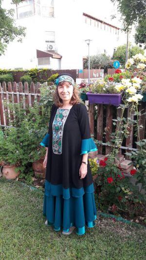 שמלת ערב לדתיות מיוחדת ומקורית