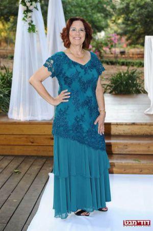 שמלות ערב בשילוב תחרה ושיפון