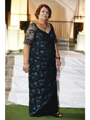 שמלות ערב לנשים מלאות בגזרה מעניינת