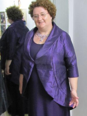 שמלת ערב לדתיות וג'קט מטפט