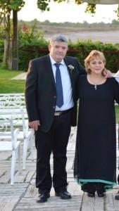 שמלת ערב מעניינת עם סרטים לחתונה