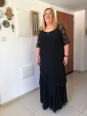 שמלות ערב לחתונה -בגזרת פרינסס מסטן