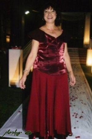 בגדי ערב לנשים חולצה מסטן צווארון עשיר חצאית