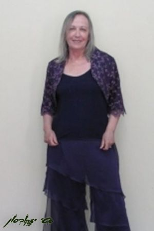 בגדי ערב לנשים בולרו קצר גופיה ומכנסי קומות