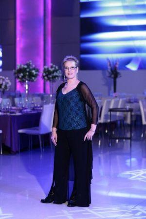 בגדי ערב לנשים עליון מעניין גופיה תחרה  ומכנסיים