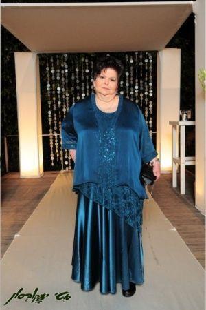שמלות ערב מידות גדולות שיפון ותחרה