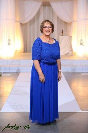 שמלות ערב מידות גדולות מחשוף בגזרת לב